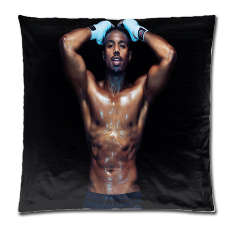 Michael B Jordan Shirtless pillow case