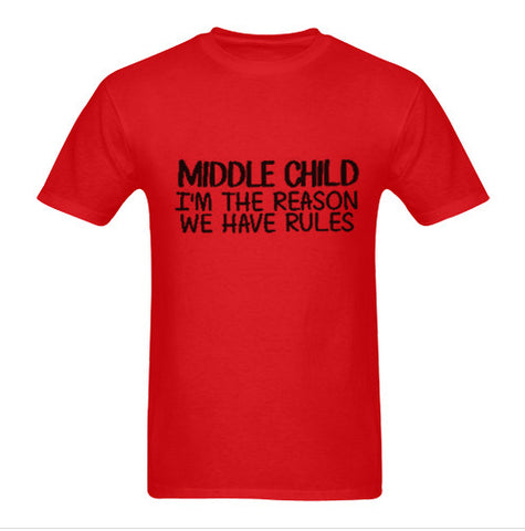 Middle child tshirt
