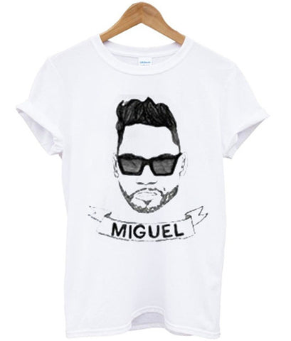Miguel is an American recording artist T shirt