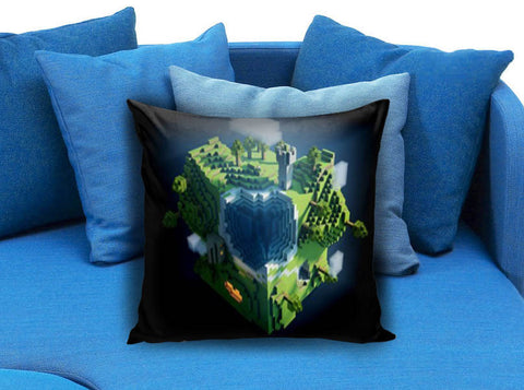 Minecraft Creeper Pillow case