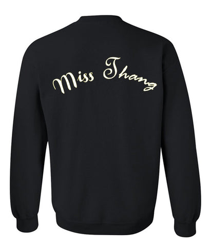 Miss Thang sweatshirt back