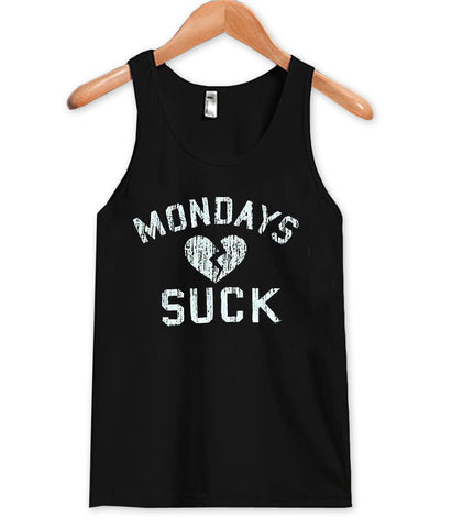 Mondays suck Tank Top