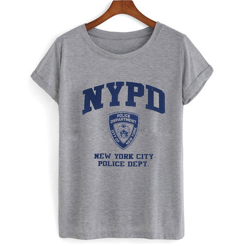 NYPD new york police department T shirt