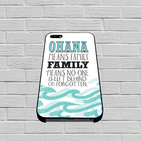 Ohana Means Family Lilo and Stitch case of iPhone case,Samsung Galaxy