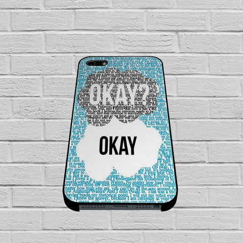 Okay Okay John Green case of iPhone case,Samsung Galaxy