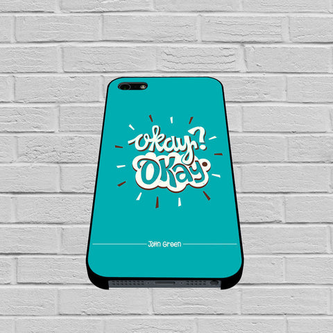 Okay Okay The Fault In Our Stars 3 case of iPhone case,Samsung Galaxy