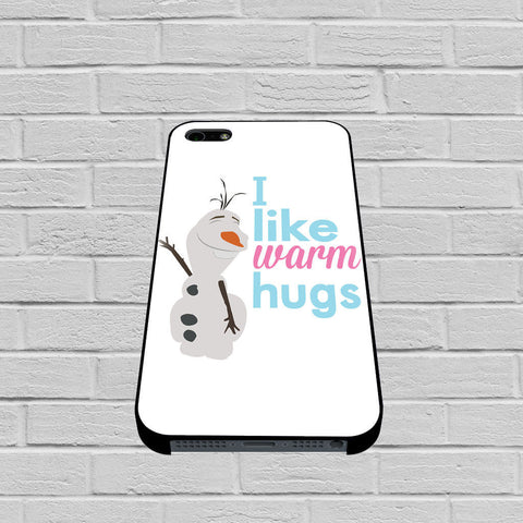Olaf Frozen Quotes Warm Hug case of iPhone case,Samsung Galaxy