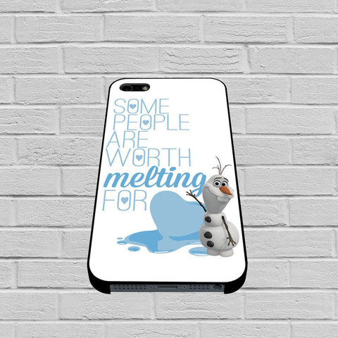 Olaf Quote of Disney Frozen case of iPhone case,Samsung Galaxy
