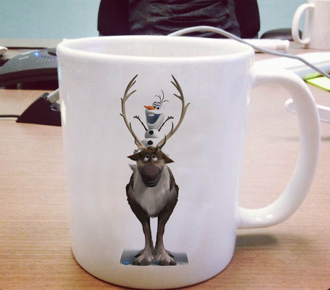 Olaf and svan Ceramic Mug