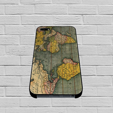 Old World Map Photo case of iPhone case,Samsung Galaxy