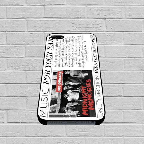 One Direction 1d Midnight Memories case of iPhone case,Samsung Galaxy