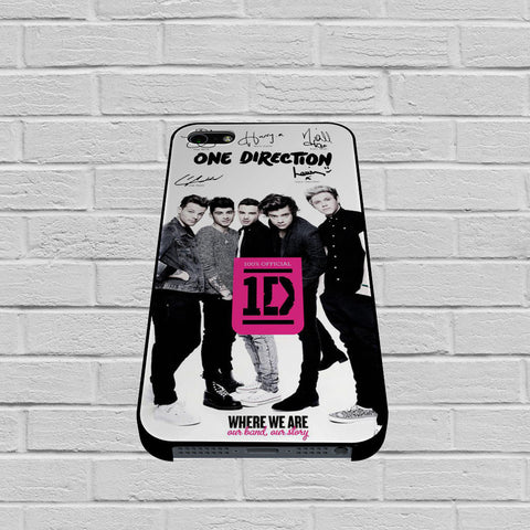 One Direction Book case of iPhone case,Samsung Galaxy