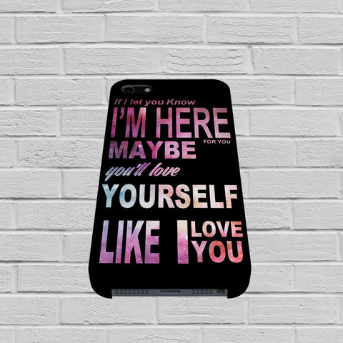 One Direction Love Quote In Galaxy case of iPhone case,Samsung Galaxy