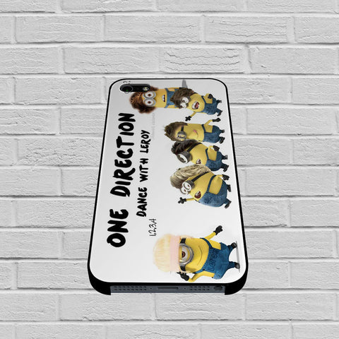 One Direction Minions case of iPhone case,Samsung Galaxy