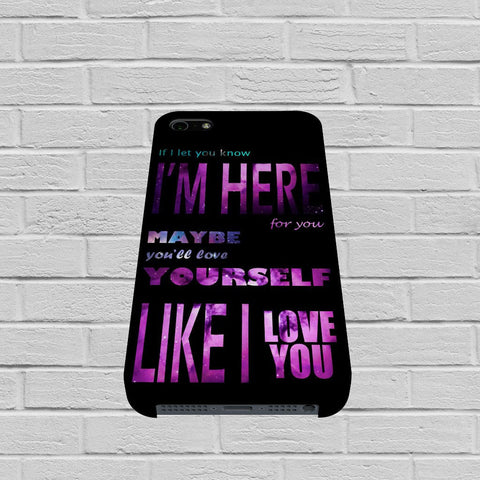 One Direction Quote case of iPhone case,Samsung Galaxy