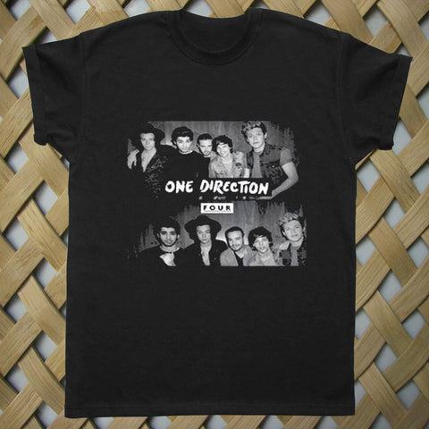 One Direction Shirt 1D Four Logo T shirt