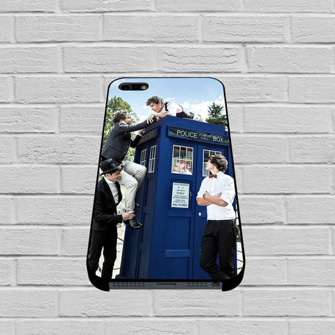 One Direction Tardis Dr Who case of iPhone case,Samsung Galaxy