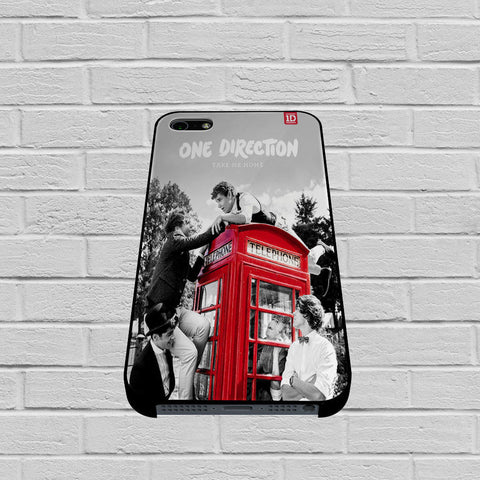 One Direction Telephone Box case of iPhone case,Samsung Galaxy