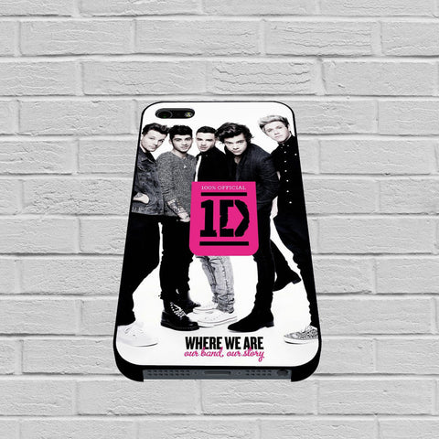 One Direction Where We Are Our Band Our Story case of iPhone case,Samsung Galaxy
