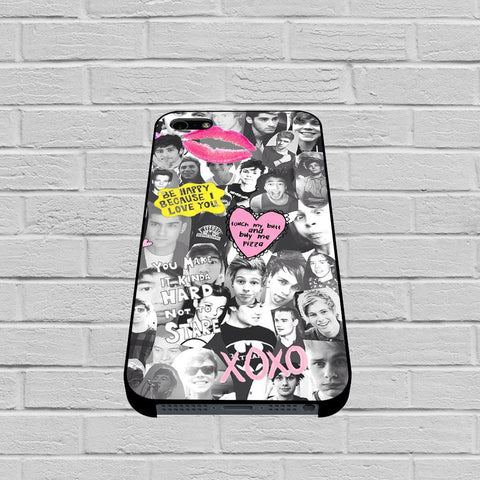 One Direction and 5 Seconds Of Summer Collage case of iPhone case,Samsung Galaxy