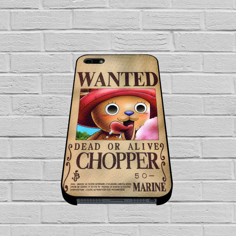 One Piece Chopper Wanted Poster case of iPhone case,Samsung Galaxy