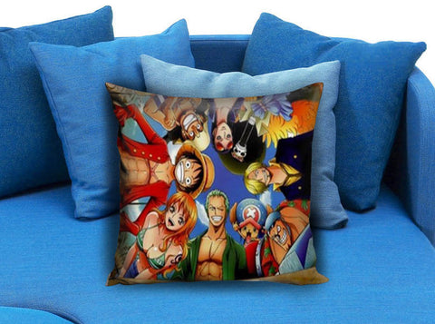 One Piece Crew Pirates Anime Manga Pillow Case