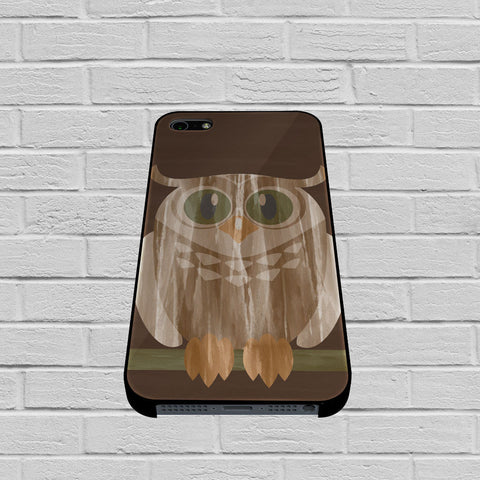 Owl Of Wood case of iPhone case,Samsung Galaxy