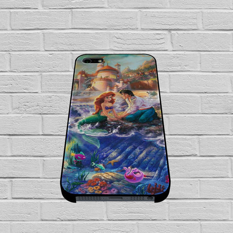 Paintings Ariel The Little Mermaid case of iPhone case,Samsung Galaxy