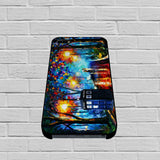 Paintings Tardis Leonid Afremov Doctor Who case of iPhone case,Samsung Galaxy