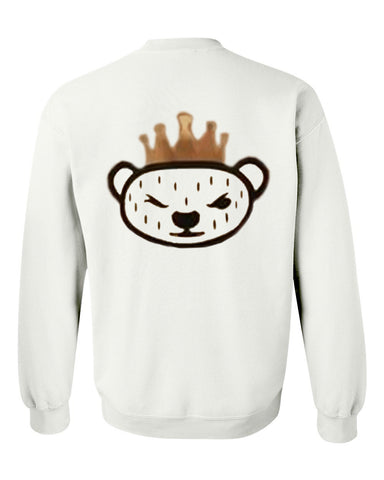 Panda sweatshirt back