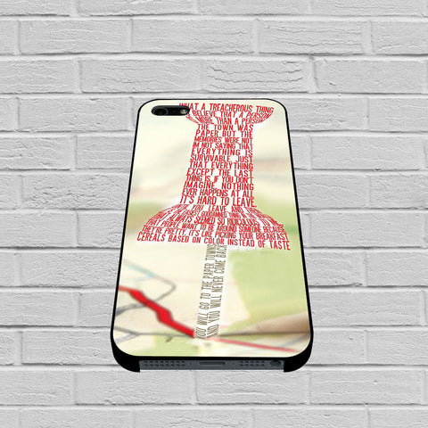 Paper Towns Collage case of iPhone case,Samsung Galaxy