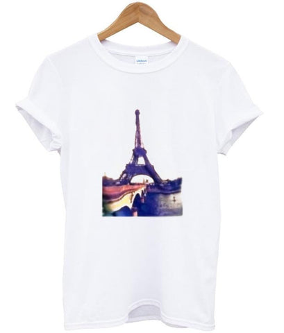 Paris Eiffel tower tshirt