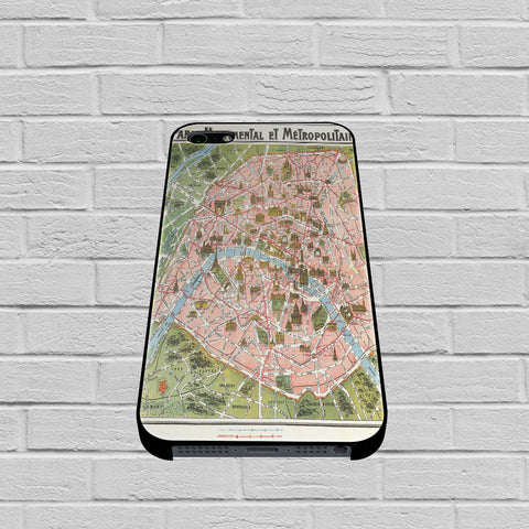 Paris Map case of iPhone case,Samsung Galaxy