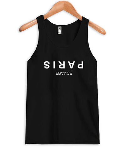Paris france tanktop
