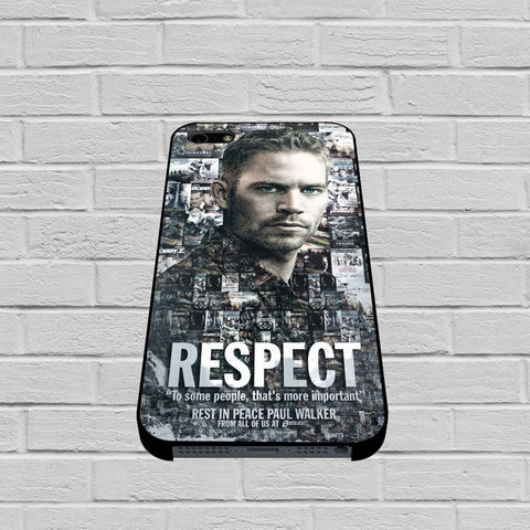 Paul Walker Respect case of iPhone case,Samsung Galaxy