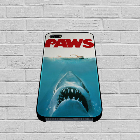 Paws Movie Parody Funny Cat Attack case of iPhone case,Samsung Galaxy