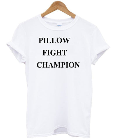 Pillow fight tshirt