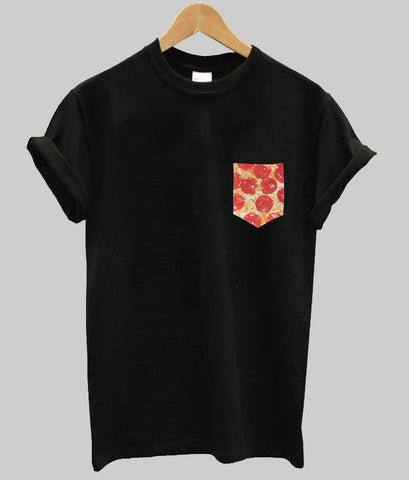 Pizza Pocket T shirt