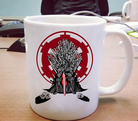 Playing the game of thrones Ceramic Mug