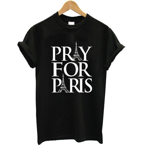 Pray For Paris shirt tshirt france french god anti terror T shirt