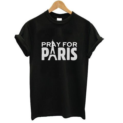 Pray for Paris T shirt