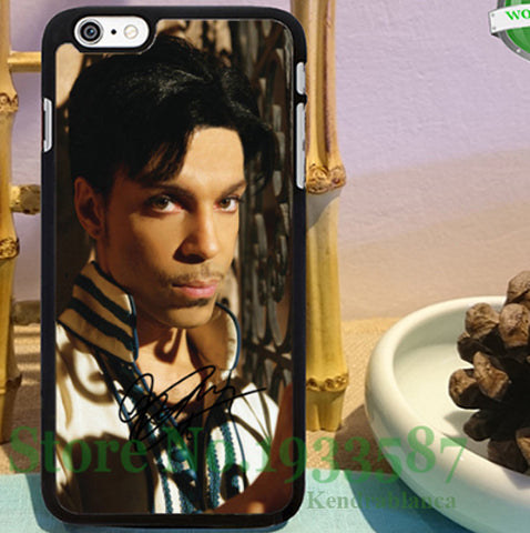 Prince Rogers Nelson original black cell phone cases for iphone 6 6 plus 6s 6splus 5 5s 5c 4 4s