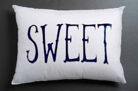 SWEET Pillow case