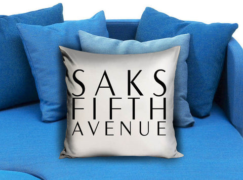 Saks Fifth Avenue New York White Pillow case