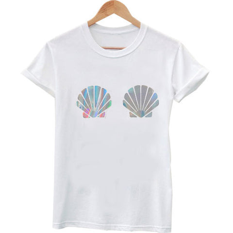 Shell bra T shirt