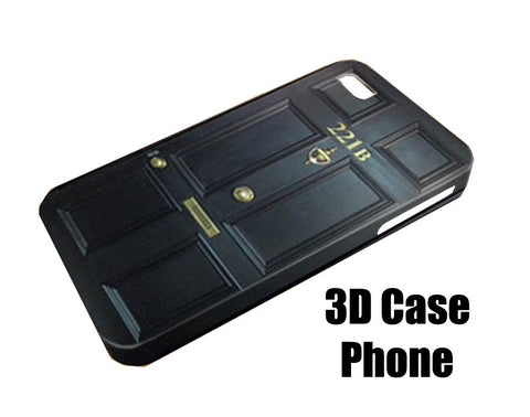 Sherlock Holmes 221b Design 3D Case Phone case iPhone case Samsung Galaxy Case