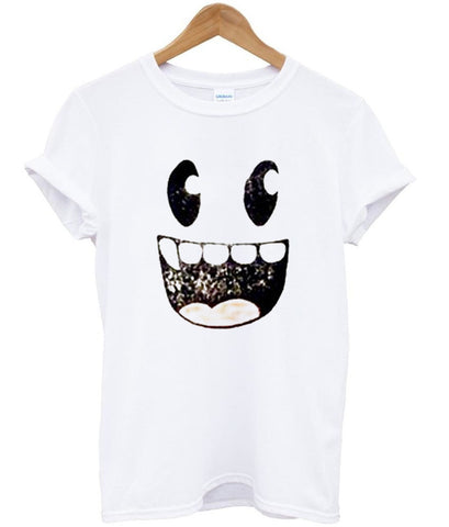 Smiley monster face Tshirt