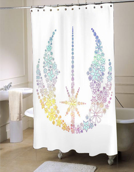 Star Wars Inspired Brightly Colored Jedi Flowers Shower