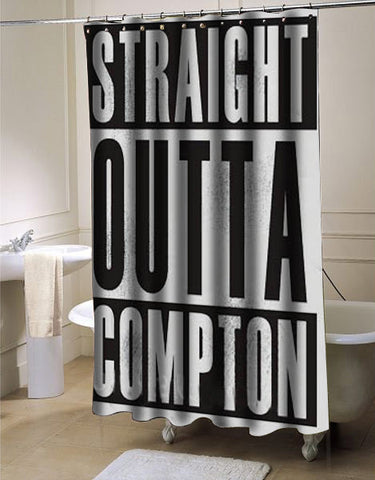 Straight Outta Compton shower curtain customized design for home decor