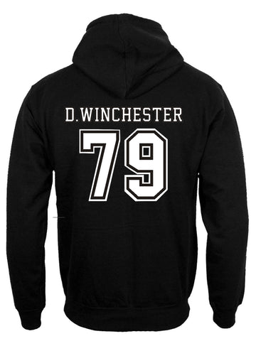 Supernatural Shirt Winchester 79 Hoodie back